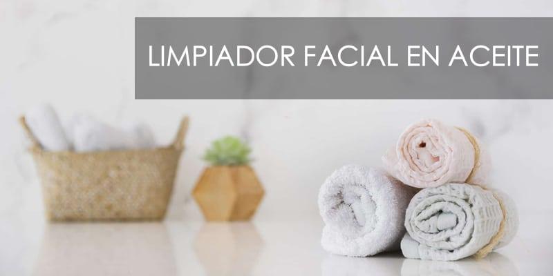 limpiador facial en aceite