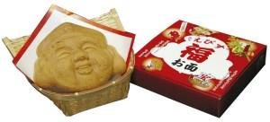「えびす福お面®」煎餅