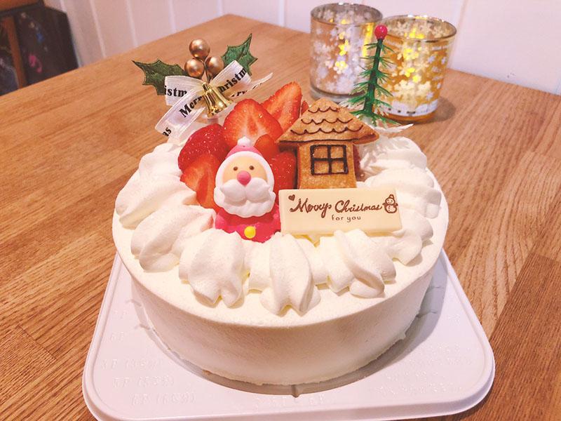 GATEAU marie(ガトーマリー) クリスマスデコレーションケーキ 生クリーム(15cm・3300円)
