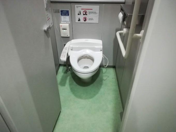 トイレ スーツケース