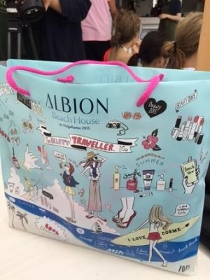 ALBION BEACH HOUSEお土産袋