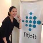 フィットネスデバイスの世界No.1メーカー「fitbit」イベント出演