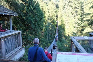 The Capilano Suspension Bridge, Vancouver