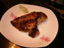 Garlic, Lemon, Lemon Pepper, Olive Oil Marinaded Chicken