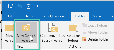 How to see All Mail Items in Outlook 2016
