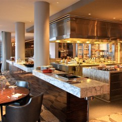 Hotels With Kitchen In Los Angeles Island Wine Rack Rh At The Andaz West Hollywood Hotel Tomostyle
