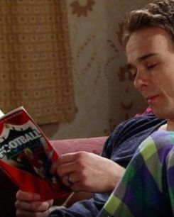David Platt reads Football Academy on Coronation Street