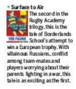 Rugby World Surface to Air