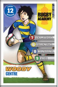 woody card