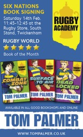 Tom Palmer Rugby Paper Ad