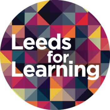 Leeds For Learning_Logo incl safe area-Col