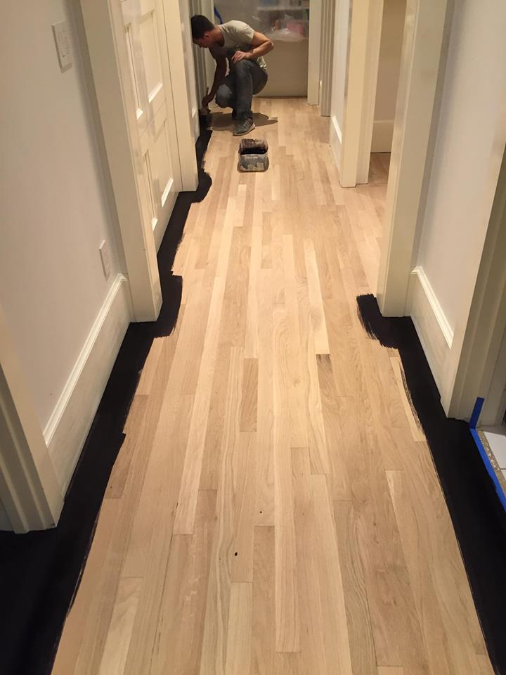 Chicago Water Damage Hardwood Floor White Oak 214  Tom