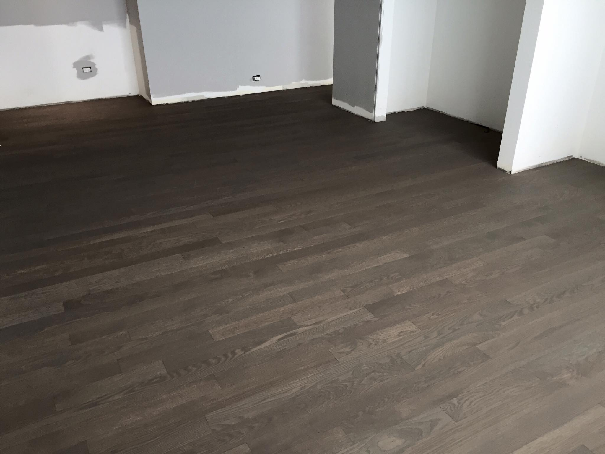 Chicago Hardwood Floor Rubio Monocoat  Install  Sanding White Oak  Tom  Peter Flooring