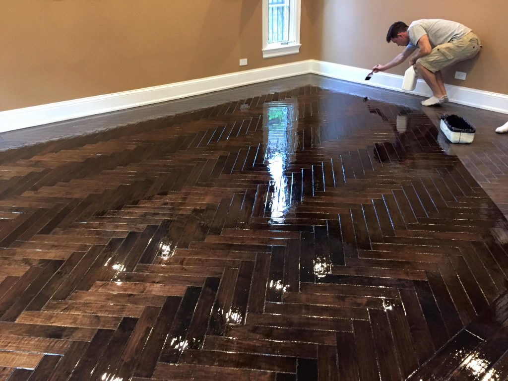 Custom Wood Floors in Skokie Illinois  Tom  Peter