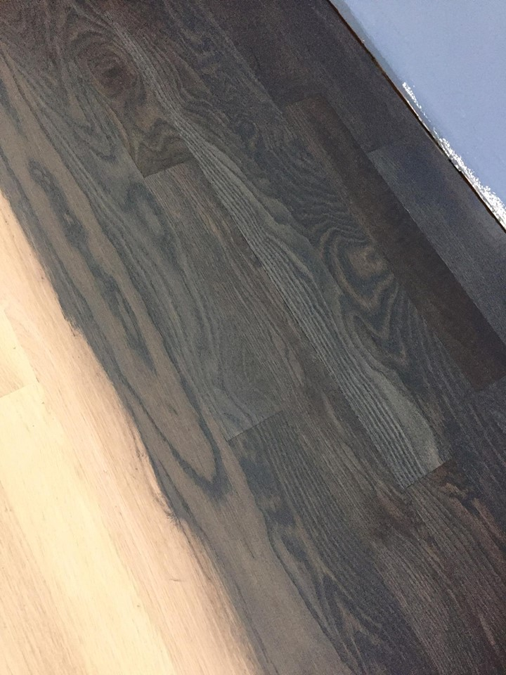 Solid White Oak 3 14 Hardwood Floor Installation Chicago