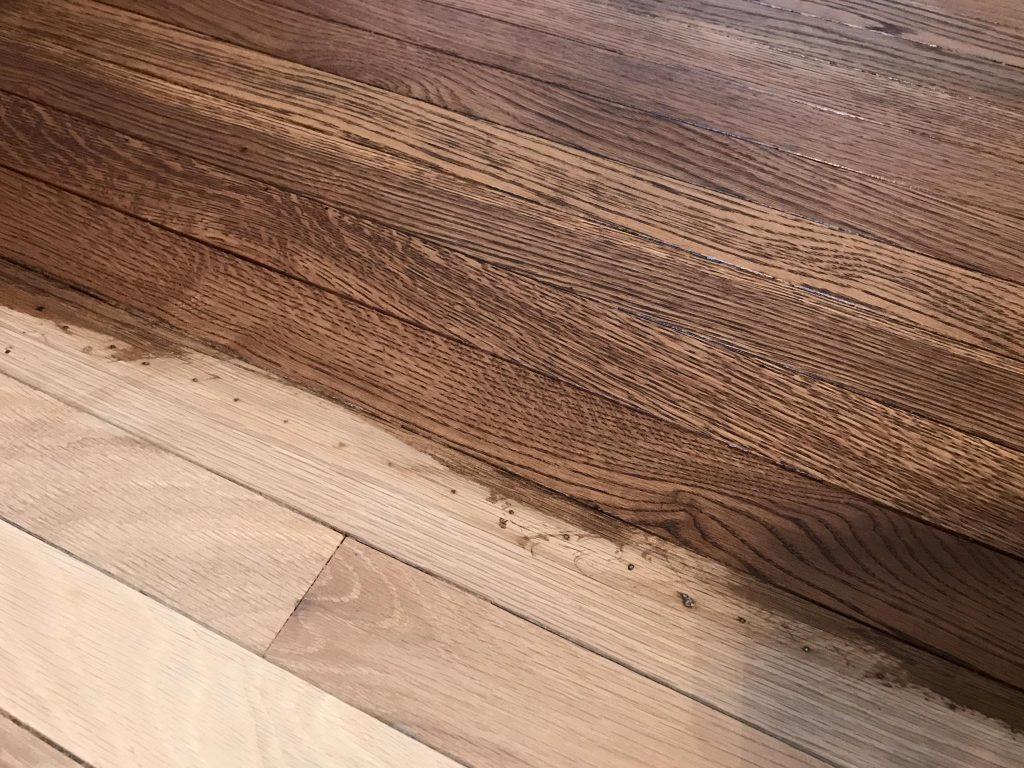 Dustless Sanding Hardwood Floor in Hoffman Estates  Tom