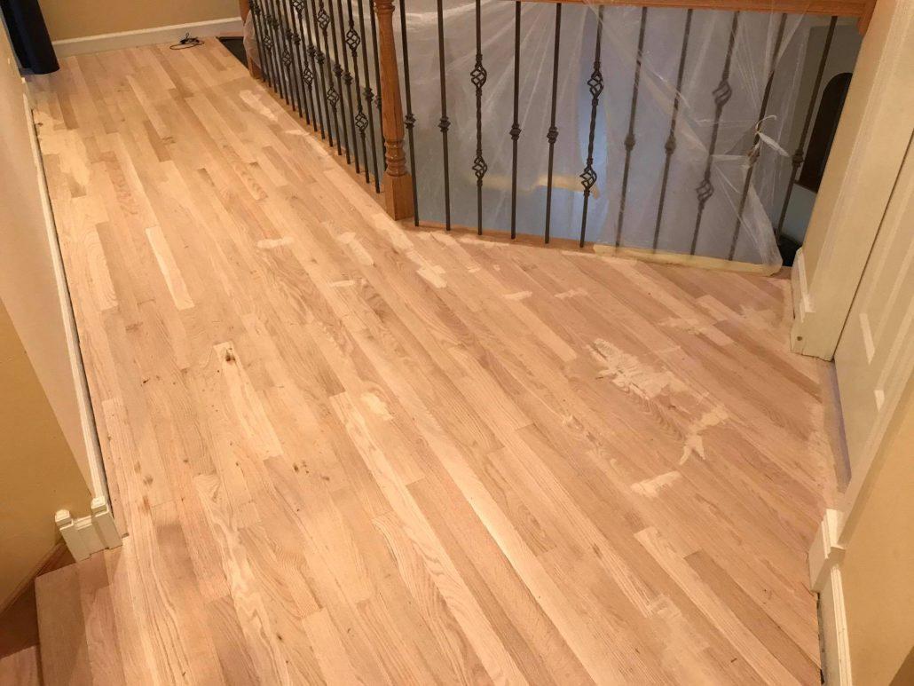 North Barrington Install Hardwood Floor Red Oak 2 14 and