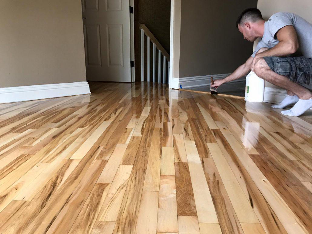 Schamburg  Refinishing Hardwood Floor Red Oak  Maple 2 1