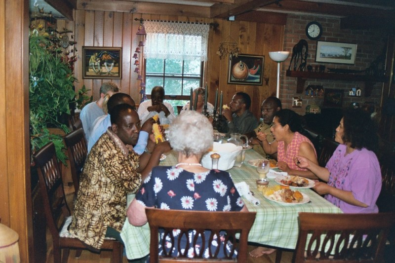 Eating With Kenyan Guests