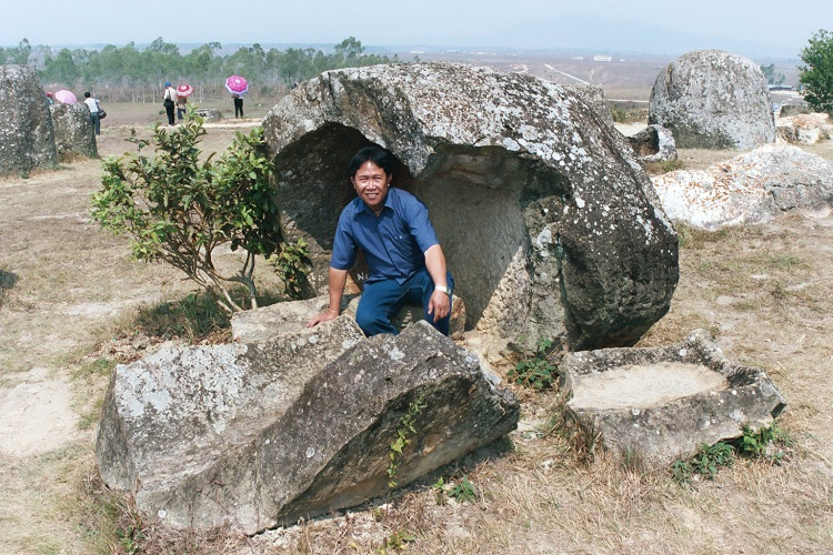 Friend in a Cracked Jar at the Plain of Jars