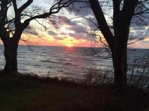 Lake Michigan In November