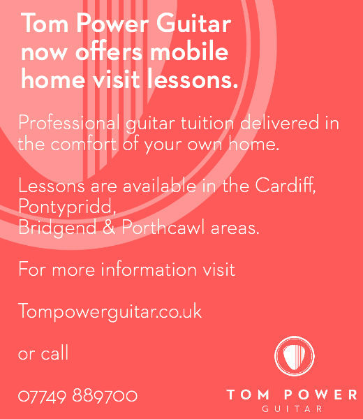 Mobile guitar teacher south wales