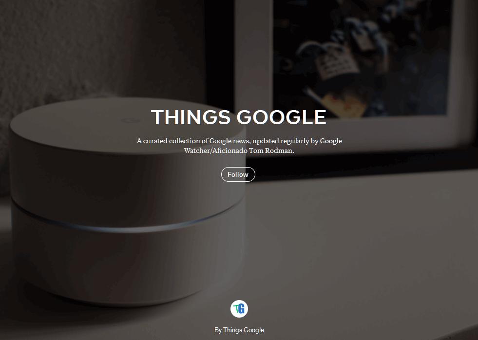 My (Flipboard) Google Magazine is Now Public