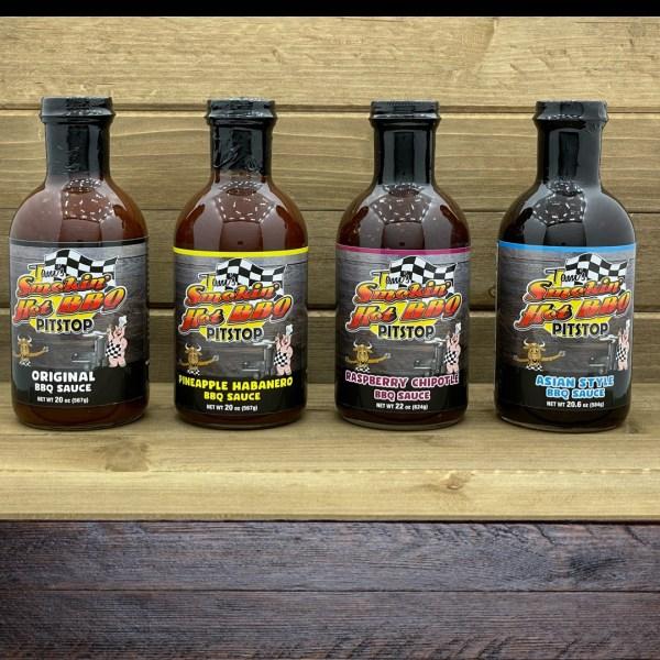 4 Pack BBQ Sauce Bundle
