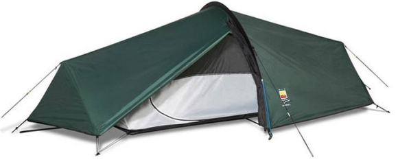 Highlander BLACKTHORN 2 Man Tent Ultralight Backpacking Camping Bike Lightweight