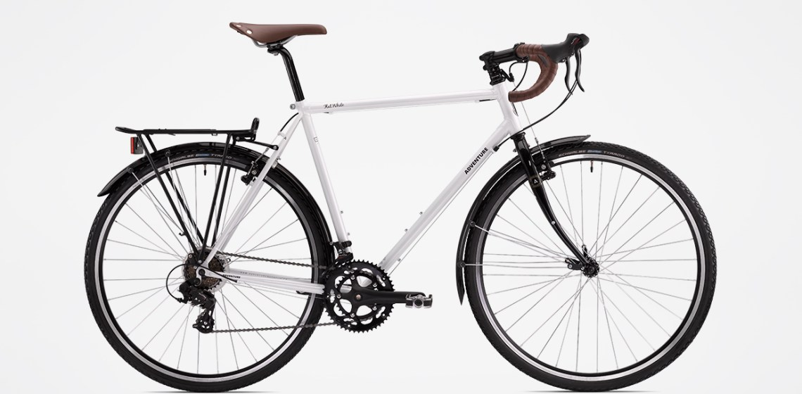 A Pro Bike Builder Reviews The \'Adventure Flat White\' Budget Touring ...