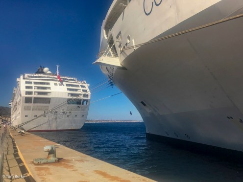Oceana and Celebrity Eclipse