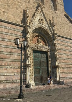 The door to the Cathedral