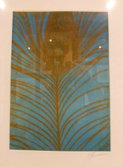 PEACOCK HURL Stephen R. Fredericks....soft ground etching