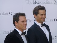 ANDREW RANNELLS and boyfriend MIKE DOYLE