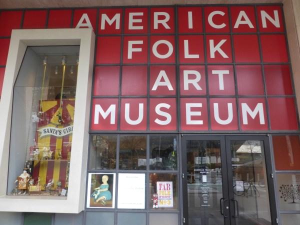 Christmas Shopping American Folk Art Museum Tom' Eye View