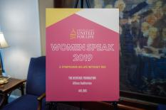 AUL Women Speak Symposium