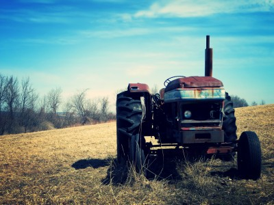 Abandoned Farm Tractor