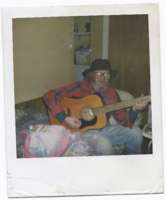 Found Photograph - The Guitar Man