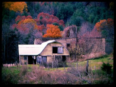 old-yellow-barn