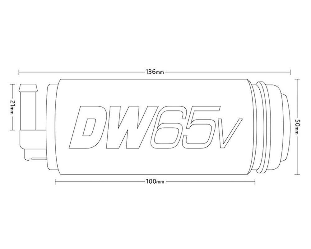Deatschwerks DW65c Compact 265LPH In-Tank Fuel Pump VW