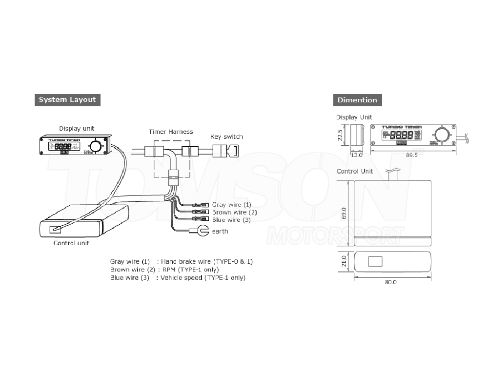 Funky Apexi Turbo Timer Manual Motif - Electrical and Wiring Diagram ...