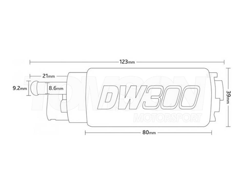 Pompa paliwa Deatschwerks 9-301-0847 DW300 (340LPH