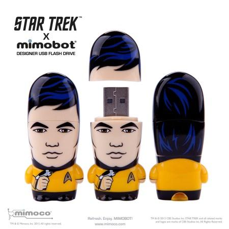 Sulu Star Trek USB Drive