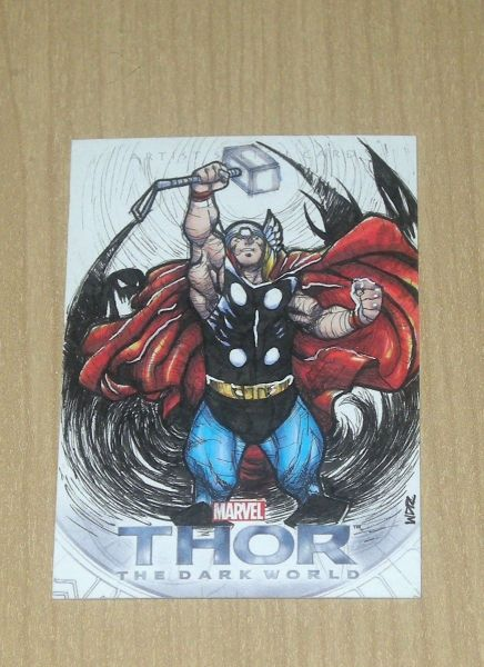 Walter Rice Hand Drawn Thor