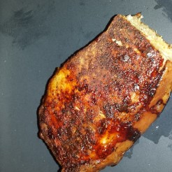 Pork Chop with Rescue Rub Seasoning