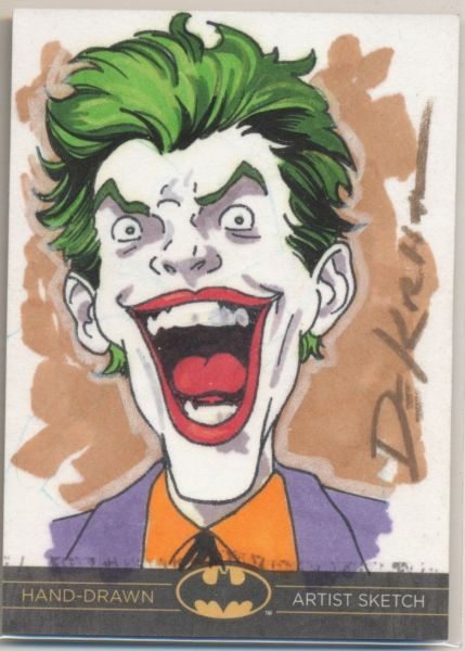 Sketch Card by Adam DeKraker