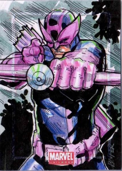 Hawkeye by Bien Flores