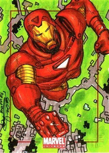 Mark Marvida Iron Man