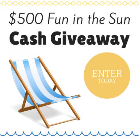 $500 Cash Giveaway