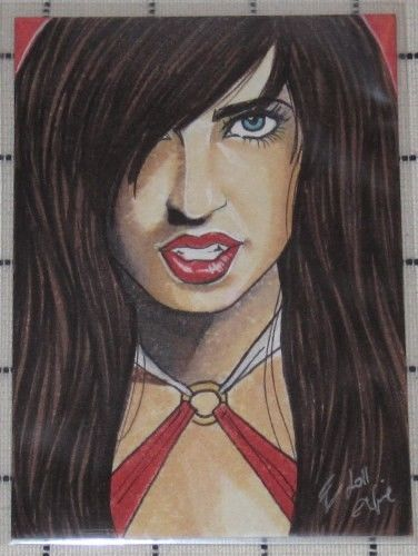 Art of the Day Sketch Card